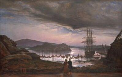 Johan Christian Dahl, 'View from Vaekero near Christiania', 1827