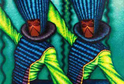 Ed Paschke, 'Double Green', 1977