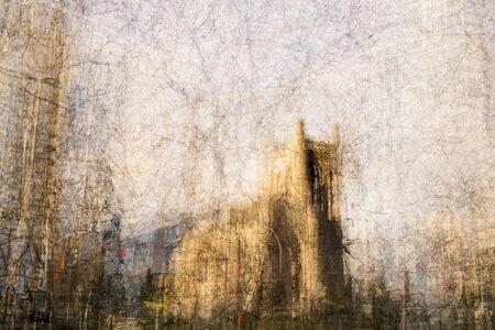 Bill Anderson (b. 1952), 'City Church', 2014
