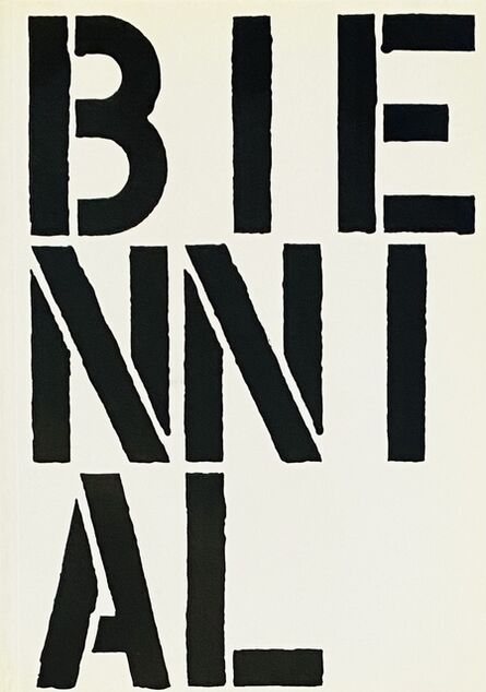 Christopher Wool, 'Christopher Wool The Whitney Biennial Exhibition 1989 (exhibition catalogue)', 1989