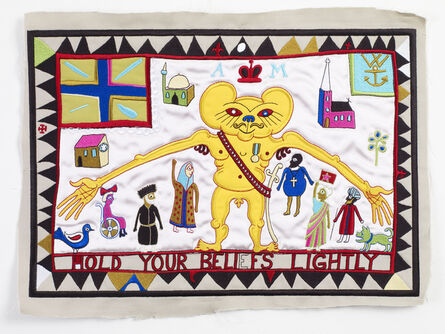 Grayson Perry, 'Hold Your Beliefs Lightly', 2012