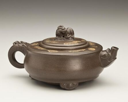 'Auspicious Teapot with Marbled Spots', 1993