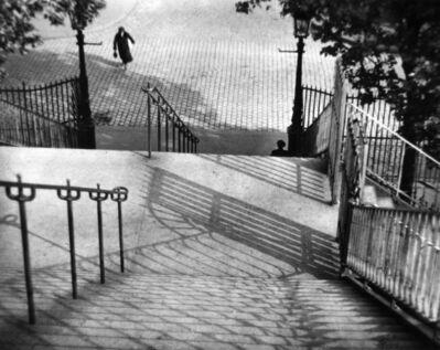 André Kertész, 'The Stairs of Montmartre, Paris', 1926