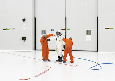 Vincent Fournier, 'Ergol #5, S1B clean room, Arianespace, Guiana Space Center [CGS],Kourou, French Guiana, 2011.', 2011