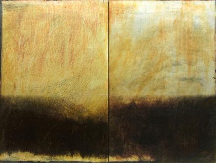 Dorothy Simpson Krause, 'Silver Rain (diptych)', 2008