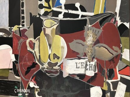Georges Braque, 'L'echo', 1960