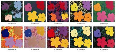 Sunday B. Morning, 'Flowers portfolio', 1970-2019