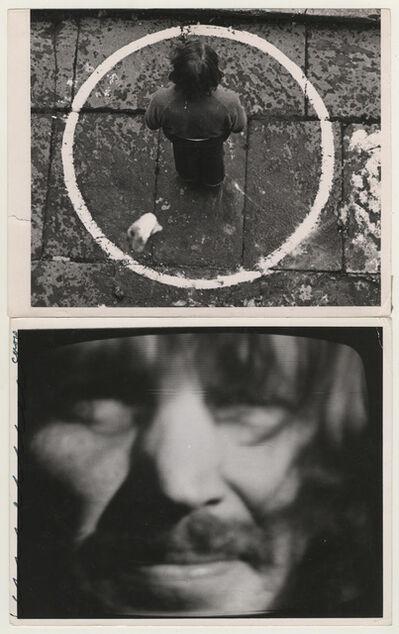 Dennis Oppenheim, 'Rocked Circle - Fear', 1971