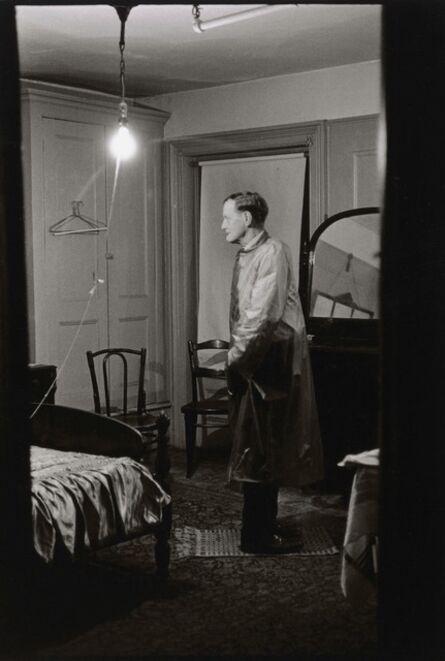 Diane Arbus, 'The Backwards Man in his hotel room, N.Y.C.', 1961