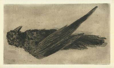 Henri-Charles Guérard, 'Le Grand Corbeau Pendu'
