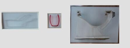 Isidora Correa, 'De la seri ABC: u, v, w (urinario, vaso, wc)', 2011