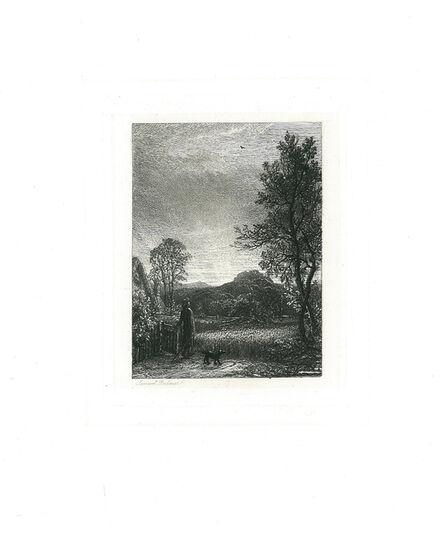 Samuel Palmer, 'The Skylark', 1850