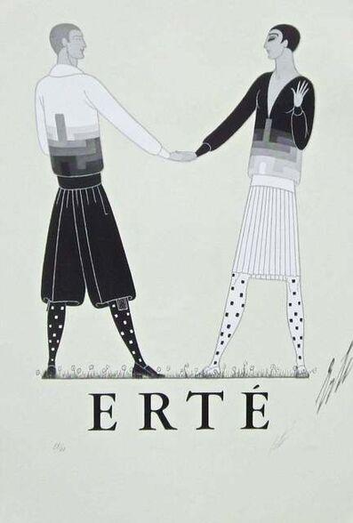 Erté (Romain de Tirtoff), 'Modern Sports Dress for Men', 1968