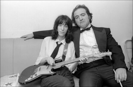 Allan Tannenbaum, 'Patti Smith and John Belushi backstage at Saturday Night Live', 1976