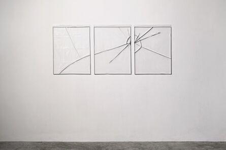 Carlos Mensil, 'Untitled (triptych)', 2017