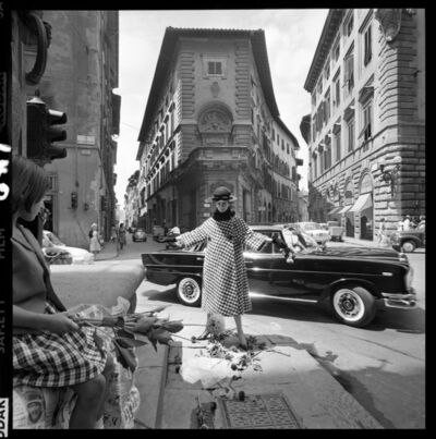 Brian Duffy, 'Girl with Mercedes, Florence', 1961