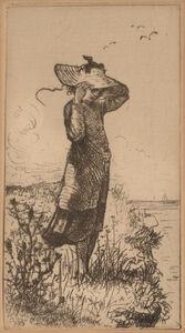 Walter Satterlee, 'A Fresh Breeze from the Sea'
