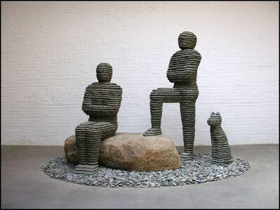 Boaz Vaadia, 'Asa & Yehoshafat with Dog (#101)', 2008