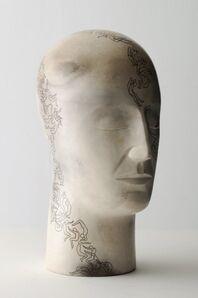Glenys Barton, 'Tatoo Head III', 2009