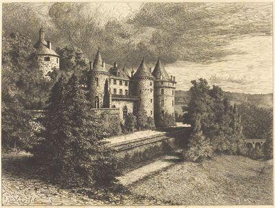Auguste Boulard, 'Château on a Rise', probably 1877