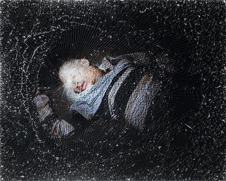 Mikhael Subotzky, 'Injured Man, Plakkerskamp, Beaufort West', 2008