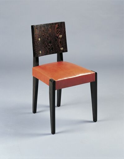 André Sornay, 'Six dining chairs', ca. 1935