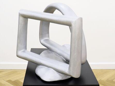 Bruno Gironcoli, 'Ohne Titel (Halbbogen mit Rechteck)', 1973