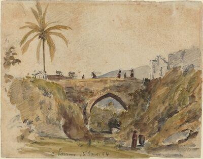Camille Pissarro, 'Bridge at Caracas', 1854