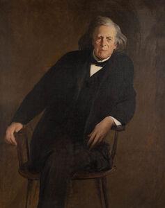 John White Alexander, 'Portrait of Mercer Beasley'