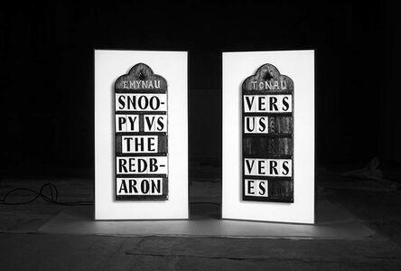 Fiona Banner, 'Verses Versus ', 2015