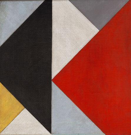 Theo Van Doesburg, 'Counter-Composition XIII (Contra-Compositie XIII)', 1925-1926