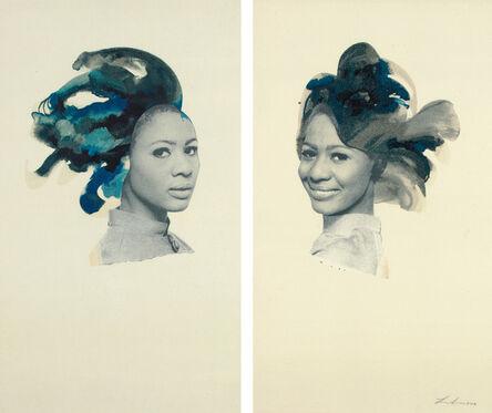 Lorna Simpson, 'Double Portrait', 2013