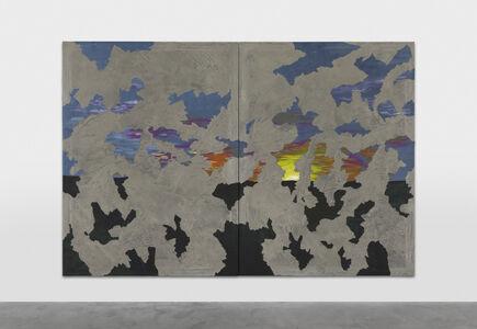 Latifa Echakhch, 'Sun Set Down (diptyque 01)', 2021