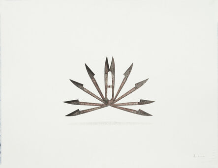 Liang Gu 顧亮, 'Tailoring Scissors', 2014