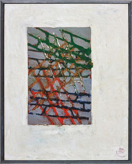 Markus Lüpertz, 'Gitterbild', 1999