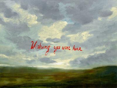Linda Davidson, 'Wishing You Were Here', 2015