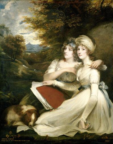 John Hoppner, 'The Frankland Sisters', 1795