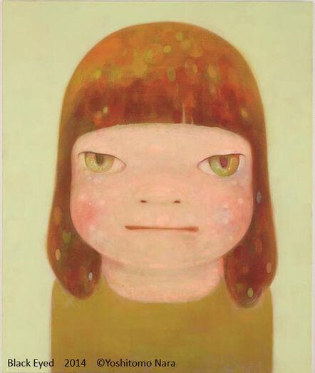 Yoshitomo Nara, 'Black Eyed', 2014