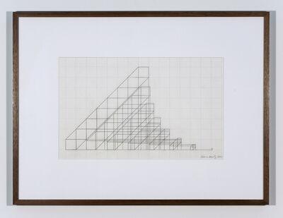 Channa Horwitz, 'SQUARES', 1988