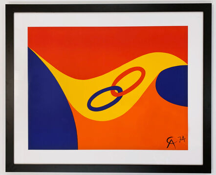 Alexander Calder, 'Friendship', 1974
