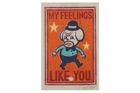 Gary Taxali, 'My Feeling Like You', 2012