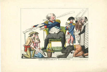 Unknown French, 'Gouvernement Paternel', Chez Choiseau, rue St.Jacques, 20 May 1815
