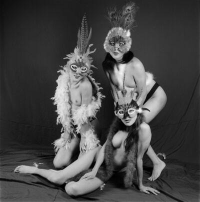 Liu Zheng, 'Three Transsexual Males, Shenzhen, Guangdong Province', 2000