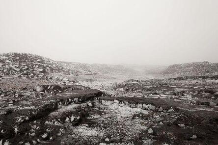 Dannie Liebergot, 'The Snow Covered Lava Field', 2015