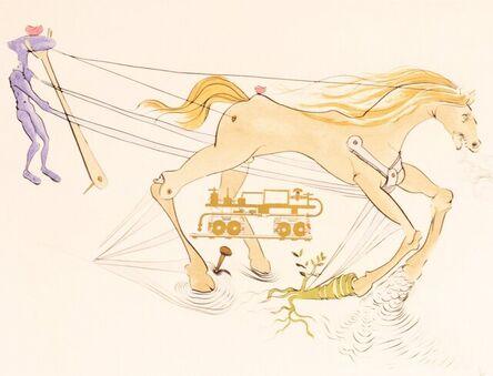 Salvador Dalí, 'Le Frien Hudraulique', 1975