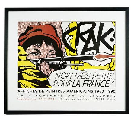 Roy Lichtenstein, 'Crack! Now Mes Petit Pour La France', 1990