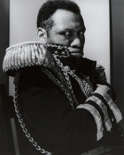 "Edward Steichen, 'Paul Robeson as ""The Emperor Jones""', 1933/1982"