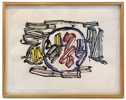 Roy Lichtenstein, 'Apple and Lemon', 1982