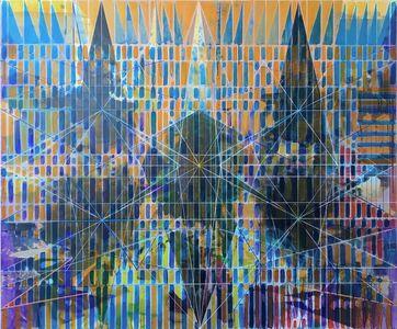 Joe Lloyd, 'Purple Offset Pattern', 2019