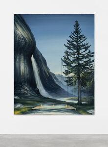Dan Attoe, 'Hottub with Waterfall', 2016